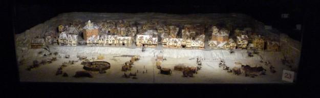 Frost Fair diorama