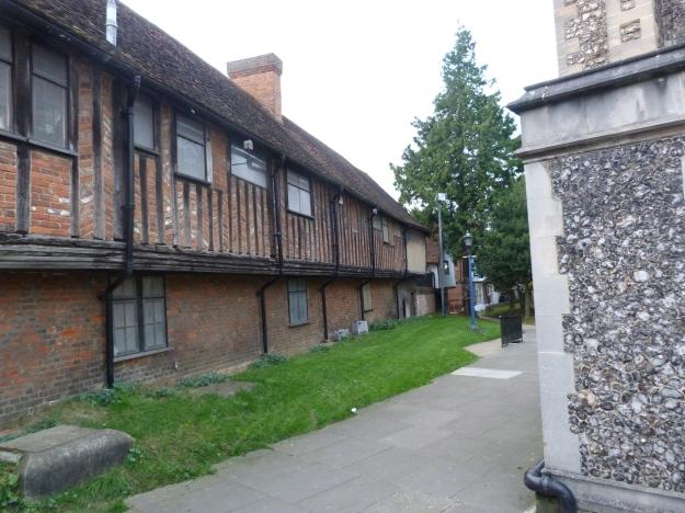 Cottages next to St Martin's Church, Ruislip