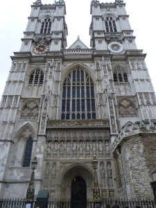 Westminster Abbey West Towers by Hawksmoor