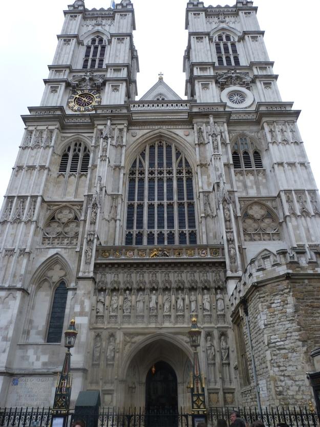 Westminster Abbey West Towers by Hawksmoor