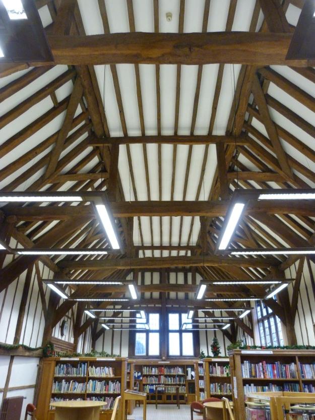 Little Barn Ruislip - the ceiling