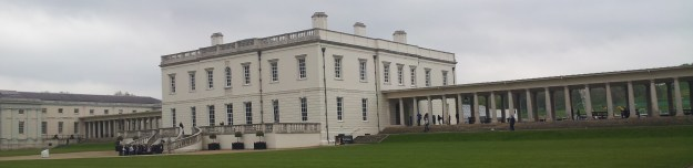 Distant view of the Queen's House, Greenwich