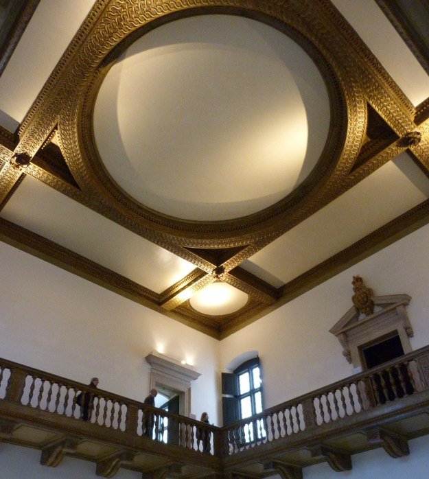 Interior of the Queen's House, looking up