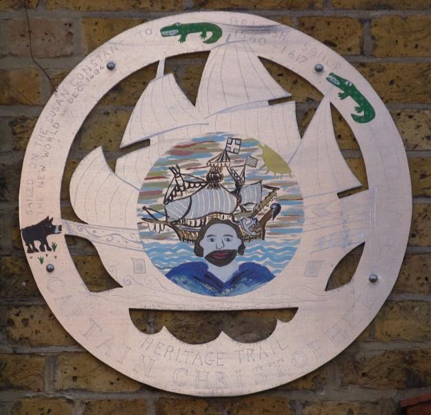 Newport plaque, Limehouse Causeway