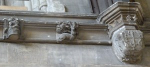 White Hart carving - symbol of Richard II