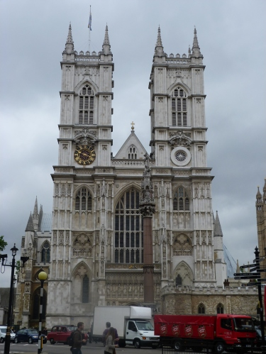 West towers, Westminster Abbey