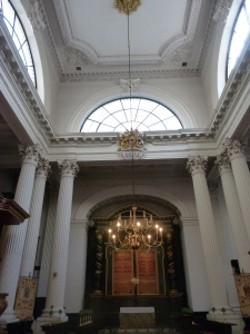 Interior, St Mary Woolnoth
