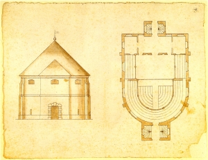The Plans (image featured on the Globe theatre website)