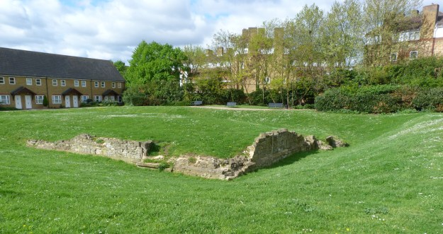 Remains of King Edward III Manor House