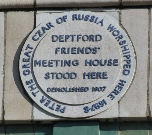 Site of Friends' Meeting House, Deptford