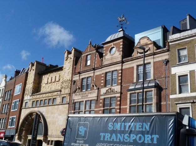 Whitechapel Gallery with Erasmus weather vane