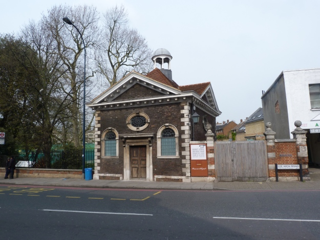 Boone's Chapel, Lee High Road (1682)