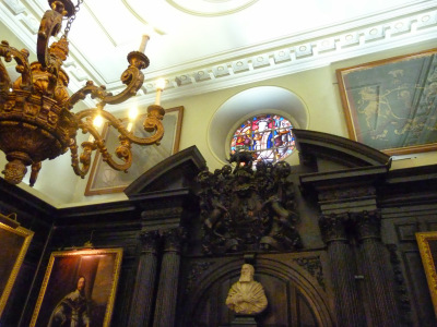 Apothecaries' Hall interior (immediately post-Fire)