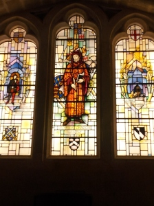 Chaucer window (Guildhall)