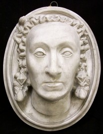 Death mask of Elizabeth I