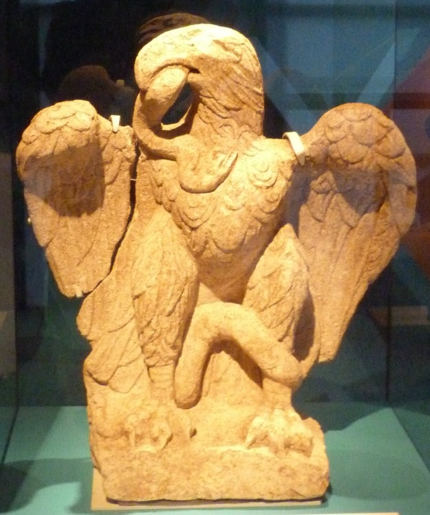 Imperial eagle, Museum of London