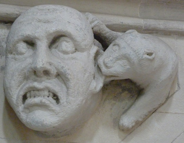 Ear attack, Temple Church! (Soul in torment)