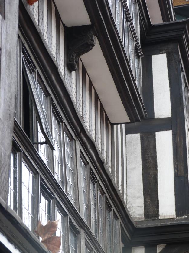 Staple Inn Buildings jettying