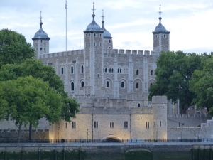 The Tower and Traitors' Gate from the South Bank