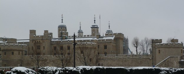 The Tower in the snow
