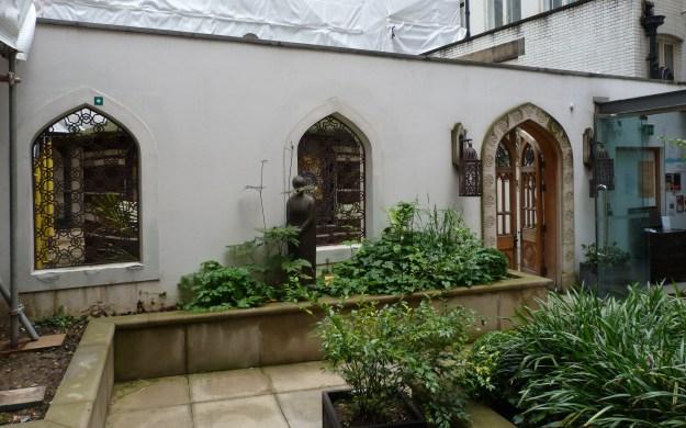 Entrance to Peace Garden