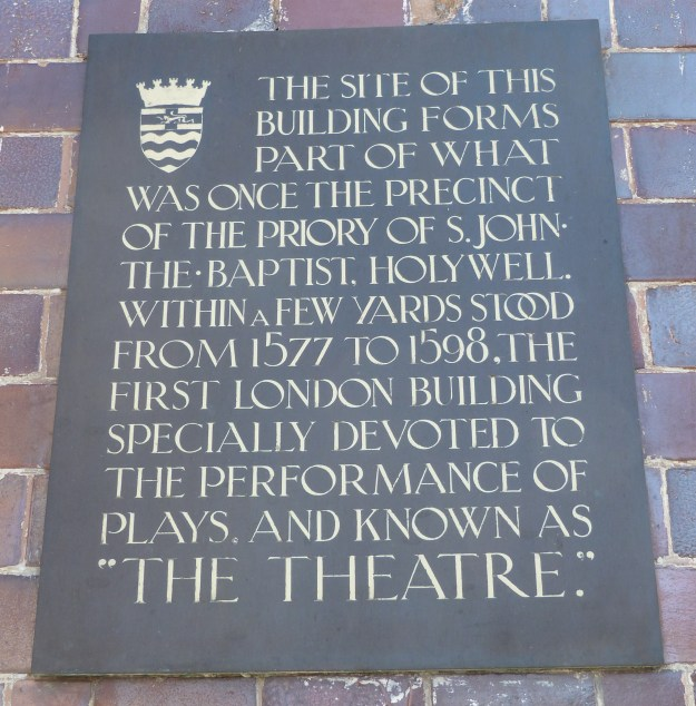 Theatre plaque (1)