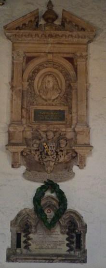 14 - Memorial to Samuel Pepys (d. 1703)