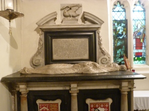 Memorial to Elizabeth, Lady Berkeley (d. 1635)