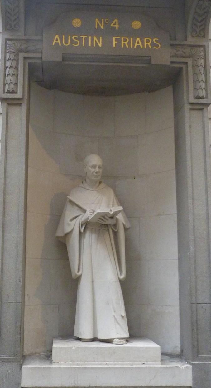 Statue of Austin Friar