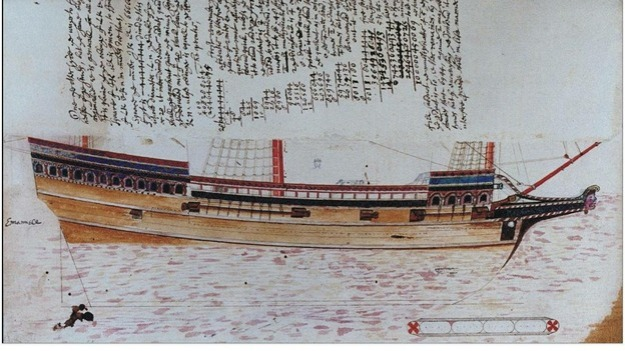 Reconstruction of The Gresham Ship