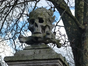 Memento mori, church of St Nicholas