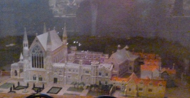 Reconstruction of Ely Palace (in the Crypt of St Etheldreda)