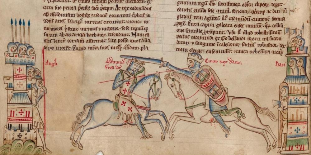 Viking raids on Anglo-SaxonLondon (1/6)