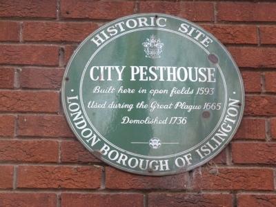 Site of Pesthouse, Islington