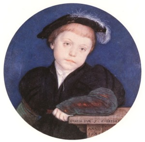 Henry Brandon, 2nd Duke of Suffolk - by Holbein