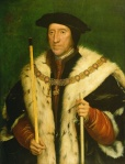 Howard, Duke of Norfolk, Cromwell's nemesis at court, as portrayed by Holbein