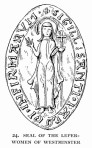Seal of the leper-women of Westminster