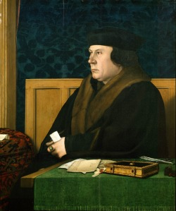 Thomas Cromwell, as portrayed by Holbein in c1533