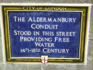 Aldermanbury Conduit