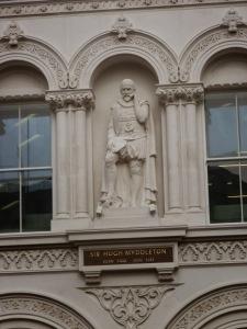Myddelton statue, Holborn Viaduct