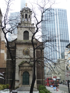 All Hallows London Wall exterior