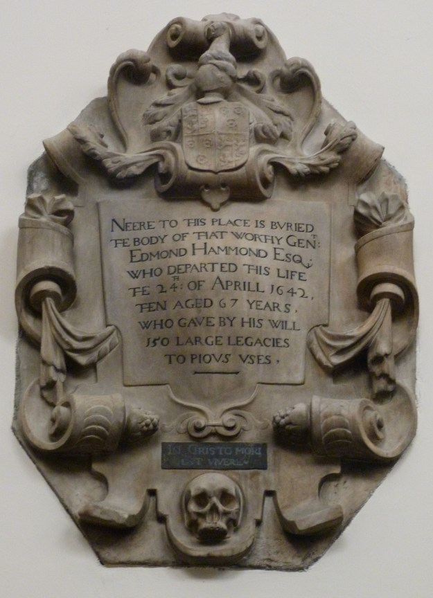 All Hallows memorial