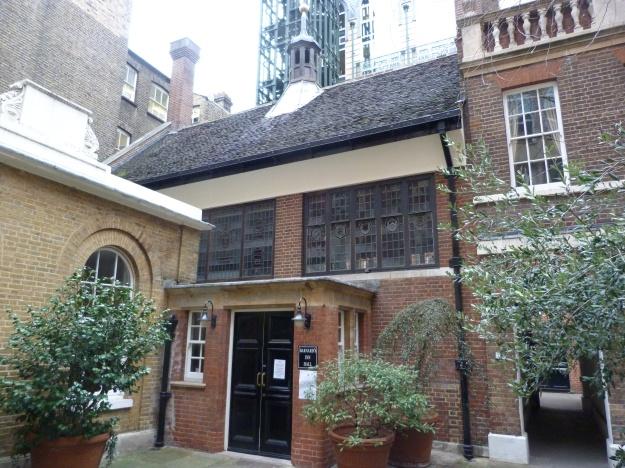 Barnard's Inn Hall - exterior