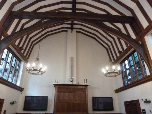 Barnard's Inn Hall - interior