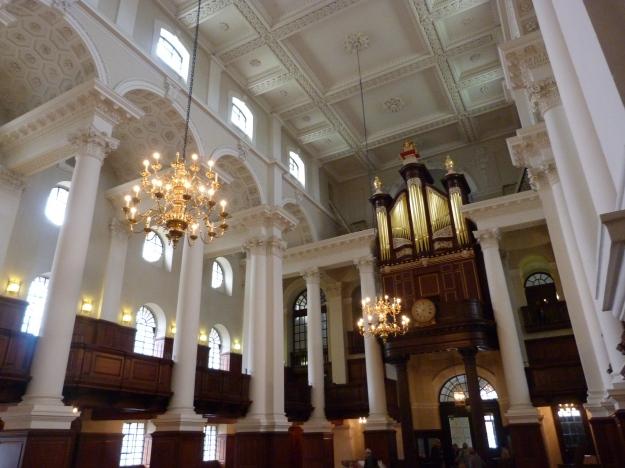 Interior with organ