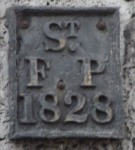 St Faith parish boundary marker