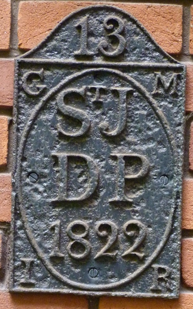St James Dukes Place parish boundary marker, St Katharine Cree churchyard