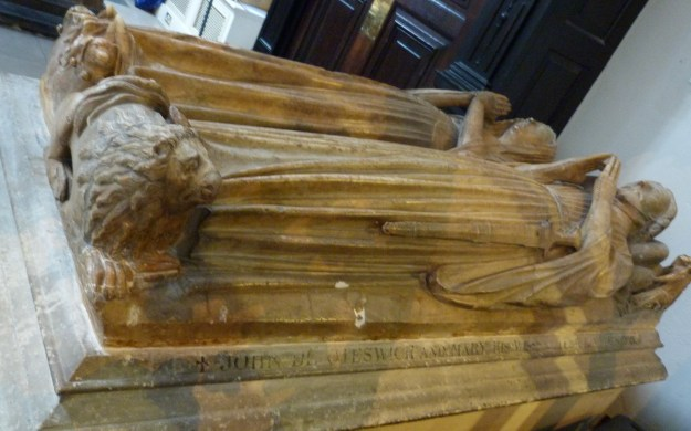 Oteswich memorial, St Helen