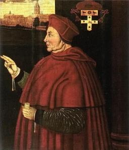 17th Century portrait of Wolsey