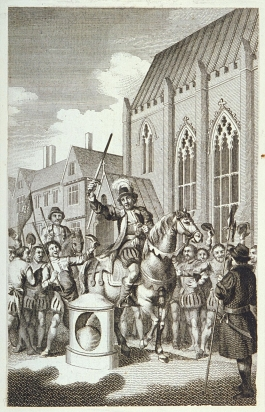 Engraving of Jack Cade